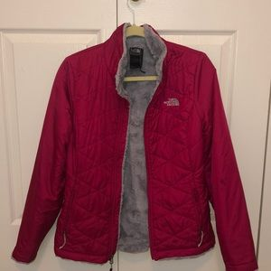 north face fuzzy lined jacket